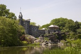 Belvedere Castle at Mid Park Quadrant in Central Park, New York Photographic Print
