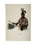 Naw-Kaw, Winnebago Chief, Print Made by Thomas Loraine Mckenney, C.1840 Giclee Print by Charles Bird King