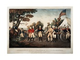 Surrender of General Burgoyne at Saratoga N.Y. Oct 17th 1777 New York, Print Made by Nathaniel… Giclee Print by John Trumbull