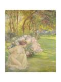Flora Giclee Print by Clementine-helene Dufau