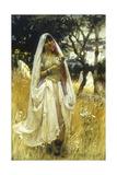 Jeune Maurengue, Campagne D'Alaer Giclee Print by Frederick Arthur Bridgman
