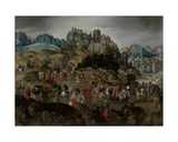 Christ Carrying the Cross, 1593 Giclee Print by Abel Grimmer or Grimer