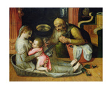 The Holy Family, C.1554 Giclee Print by Frans Floris
