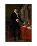 Portrait of Baron Charles-Louis De Keverberg De Kessel, 1818 Giclee Print by Joseph Ducq