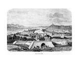 Lyon in the 16th Century, 1856 Giclee Print by Charles Francois Daubigny