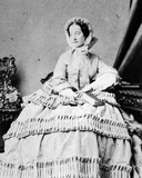 Queen Victoria, C.1860 Photographic Print by Andre Adolphe Eugene Disderi
