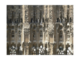 Basilica and Expiatory Church of the Holy Family by Antoni Gaudi. Detail. Spain Giclee Print