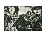 Queen Elizabeth I Rebuking the Earl of Essex Giclee Print by Paul Rainer