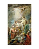 The Marriage of the Virgin, C.1763 Giclee Print by Jean Baptiste Deshays De Colleville