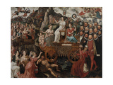 Allegory of the 1577 Peace in the Low Countries, 1577 Giclee Print by Pieter II Claeissens