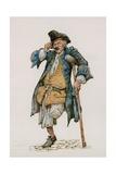 Long John Silver Giclee Print by Peter Jackson