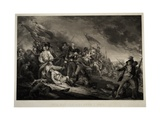 The Battle of Bunker's Hill, 1798 Giclee Print by John Trumbull