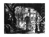 Plate from the 'Carceri D'Invenzione' Series, 1761 Giclee Print by Giovanni Battista Piranesi