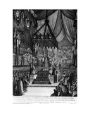Funeral of Princess Henrietta of England, 1670 Giclee Print by Henri De Gissey