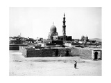 Mosque of Qaytbay, Cairo, C.1880 Photographic Print by J. Pascal Sebah