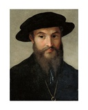 Portrait of a Bearded Man Gicleetryck av Parmigianino,
