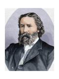 Lowell, James (1819-1891). Poet, Essayist and American Diplomat Giclee Print
