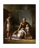 The Death of Belisarius' Wife Giclee Print by Francois Josephe Kinsoen
