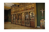 Wooden Iconostasis by Angelos Masketis. 17th Century. Byzantine Museum. Zante. Greece Giclee Print