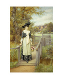 A Country Beauty Giclee Print by Charles Edward Wilson