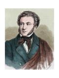 Pushkin, Aleksandr Sergeevic (1799-1837). Russian Poet Giclee Print