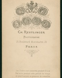 Photographer's Imprint Photographic Print by Charles Reutlinger