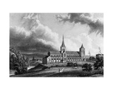 Glasgow Cathedral, Engraved by Edward Finden, C.1830 Giclee Print by William Westall