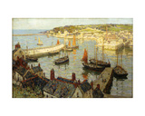 Brixham Harbour Giclee Print by Terrick Williams