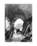 Saint Helier's Hermitage and Elizabeth Castle, Jersey, 1870 Giclee Print by Felix Benoist