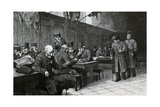Chelsea Pensioners Giclee Print by William Harris Weatherhead