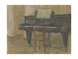 Piano, 1950s Giclee Print by Konstantin Lekomtsev
