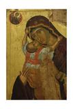 Byzantine Art. Greece. Icon with the Virgin of Tenderness (Kaardiotissa) Giclee Print
