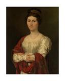Portrait of Maria Jozefa Pavot Giclee Print by Joseph Denis Odevaere