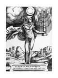 Hermes, 1555 Giclee Print by Giulio Bonasone