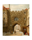 St. John's Gate from the South Side Giclee Print by W.P. West
