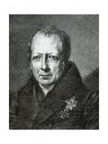 Wilhelm Von Humboldt (1767 1835) Giclee Print