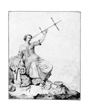 Navigation, C.1670-90 Giclée-Druck von Vincent Laurensz van der Vinne