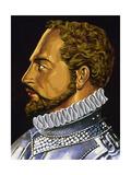 Alonso De Ercilla (1533 1594) Giclee Print