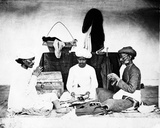 Tailors, C.1870s Photographic Print by Willoughby Wallace Hooper