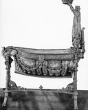 Baby Cot of the Prince Imperial, Given by the City of Paris to Empress Eugénie in 1856 Photographic Print by Victor Baltard