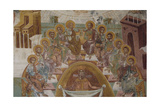 Jesus and the Apostles: the Washing of Feet. Anonymous 17th Century. Byzantine Museum. Zante.… Giclee Print
