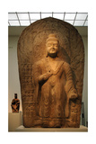Buddha Maitreya. Stela Dated Between 489-495. Northern Wei Dynasty (386-534) Giclee Print