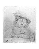 Self Portrait, 1651 Giclee Print by Constantin Daniel van Renesse