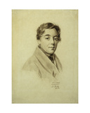 Camille Jean Baptiste Corot, 1822 Giclee Print by Julien Leopold Boilly