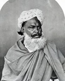 Portrait of an Indian Man, from 'The Costumes and People of India', C.1860 Photographic Print by Willoughby Wallace Hooper