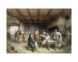 Shipwrights Taking a Rest, 1846 Giclee Print by Jean-Baptiste Madou