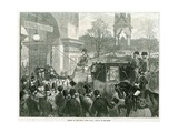 Opening of the Royal Albert Hall by Queen Victoria Giclee Print