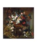 Bouquet of Flowers Giclee Print by Jean-Baptiste Monnoyer