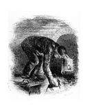 The Rat-Catchers of the Sewers, Illustration from 'London Labour and the London Poor' by Henry… Giclee Print