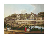 The Work House, Illustration from 'Fragments on the Theory and Practice of Landscape Gardening'… Giclee Print by Humphry Repton